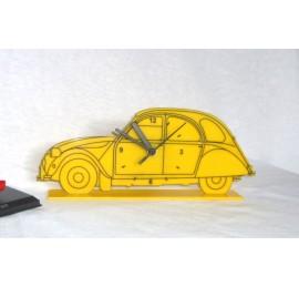 Citroen 2CV  Acrylic Clock
