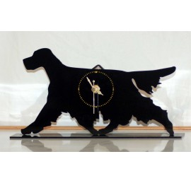 English Setter Acrylic Clock