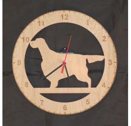 English Setter Clock