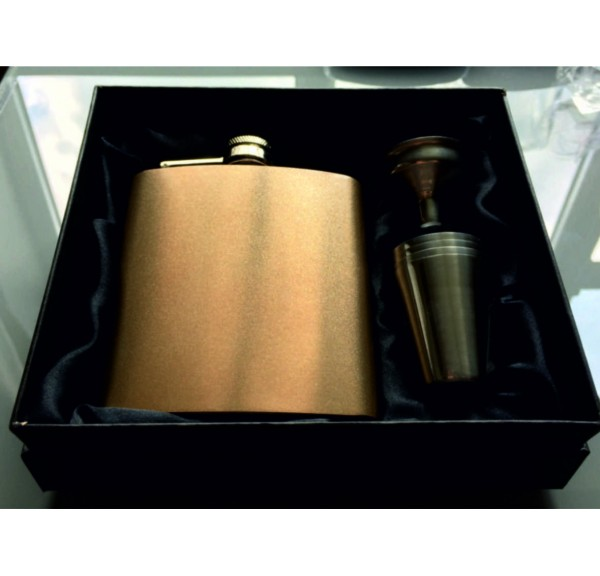 Hip Flask in Presentation Box