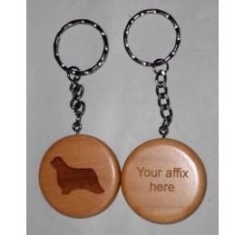 Maple Wood Key Rings