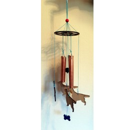 Small wind chimes.