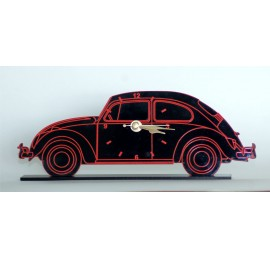 VW Beetle Acrylic Clock